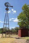 Image for Improved Clipper Windmill -- Ranching Heritage Center, Lubbock TX