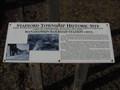 Image for Manahawkin Railroad Station Historic Marker - Herritage Park - Manahawkin, New Jersey
