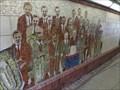Image for Brass Band - Mosaic - Pontypridd, Rhondda Cynon Taf, Wales.