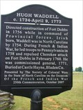 Image for Hugh Waddell  - Fort Dobbs, North Carolina
