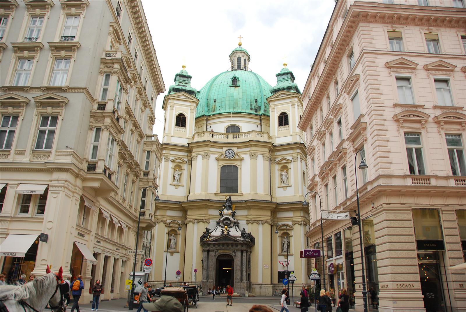 Imagini pentru peterskirche vienna