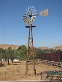 Rakstad Road Windmill, at McKean Road in San Jose, CA