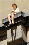 Image for The Girl with Paper Swallow in Clementinum / Vlaštovka v Klementinu (Prague)