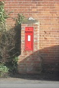 Image for VR Wall Post Box - Church Road, Peasenhall, Suffolk.