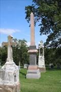 Image for Johnson Family Obelisk -- Mt. Vernon Cemetery, Atchison KS