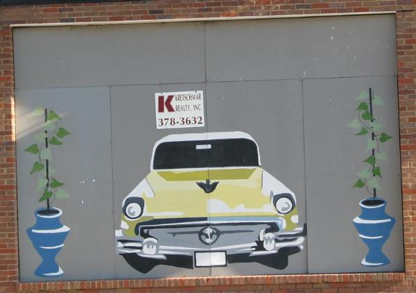 greenville buick pontiac co mural greenville mississippi murals on. Black Bedroom Furniture Sets. Home Design Ideas