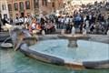Image for Fontana della Barcaccia, Piazza di Spagna - Rome, Italy