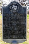 Image for Old Salem Cemetery