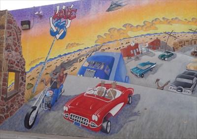 The Mother Road - Mural - Albuquerque