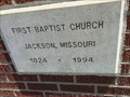 Image for 1824 - First Baptist Church - Jackson, Missouri