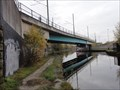 Image for Metrolink Tram Bridge Over Bridgewater Canal - Manchester, UK