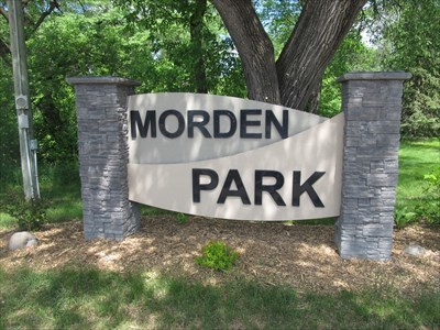 Morden Park - Morden, Manitoba, Canada - Municipal Parks and