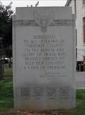 Image for Cherokee County Veterans Memorial - Canton, GA.