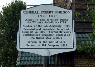 General Robert Philson - Signs of History on Waymarking com