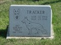 Image for Tracker, the Police Dog - Wood River Police Department