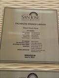 Image for Calabasas Branch Library - 2013 - San Jose, CA