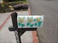 Image for Yellow flower mailbox - Carpinteria, California