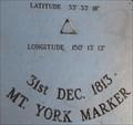 "Image for Lat 33° 33' 18"" Long 150° 13' 12"" - Mt York, NSW, Australia"