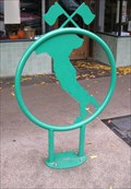 Image for Italy-Shaped Bicycle Tender - Salem, Oregon