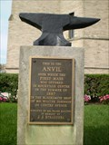 Image for First Mass Said in Rockville Centre on This Anvil in 1887