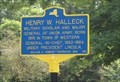 Image for Sign for Henry Halleck, Lincoln's General-in-chief - Westernville, New York