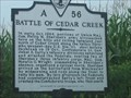 Image for Battle of Cedar Creek