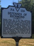 Image for Defenses of Richmond