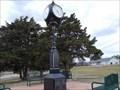 Image for Bull Foot Park Clock - Hennessey, OK