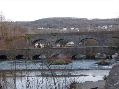 Tennant Canal Aqueduct, Aberdulais, Neath, Wales.