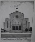 Image for St Mary's Church - 1938, North Sydney, NSW, Australia
