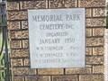 Image for Memorial Park Cemetery - Jasper, TX