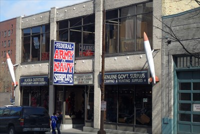 There will soon be one less place in Seattle to buy a Bulgarian army overcoat, a Polish military gas mask, French air force overalls, and MREs. Surplus Too Army-Navy in SODO lost its lease and.