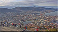 Image for Fløyen Panoramic View Webcam - Bergen, Norway