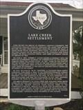 Image for Lake Creek Settlement