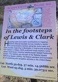 Image for In the Footsteps of Lews & Clark -- Independence Creek Historic Site