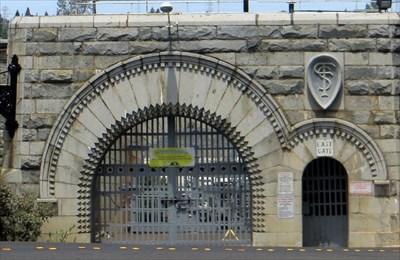 Folsom Prison East Gate Folsom California Gates Of