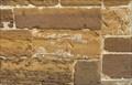 Image for Cut-mark on the west wall of St.Batholomew's Church, Greens Norton, Northants.