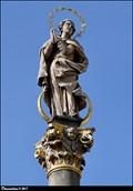 Image for Immaculata on Marian Column / Immaculata na mariánském sloupu - Pernštýnské námestí (Pardubice, East Bohemia)