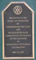 Image for Yerington Centennial Clock