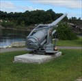 Image for Five-Inch Simm Gun, Veteran Park, Lewiston, ME