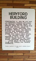 Image for Heryford Building Historical Marker - Lakeview, OR