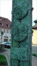 Image for Denkmal 750 Jahre Stadtjubiläum Vörenbach/Baden-Württenberg,Monument 750 years city anniversary Vörenbach / Baden-Württenberg