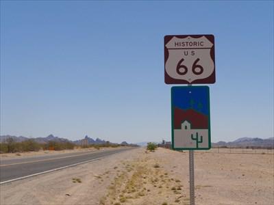 Burma Shave - Route 66 - California