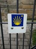 "Image for Plaque ""Way of. St. James  East"" in 95512 Neudrossenfeld/ Bayern/ Deutschland"