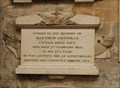 Image for CAPT Matthew Conolly, RN Tombstone -- Bath Abbey, Bath, Somerset, UK