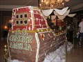 Image for S.S. Amelia Giant Gingerbread Pirate Ship - Amelia Island, Florida