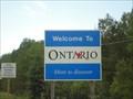 Image for Frontière Québec/ Ontario - Canada