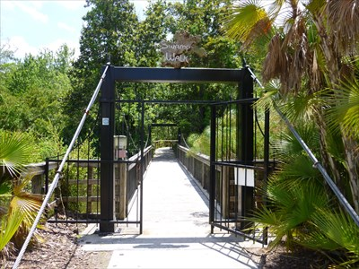 Lord Abercrombie visited Swamp Walk - Gatorland - Orlando, FL
