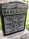 Image for 103 - G Louise (McCabe) Beveridge - Beechwood, Ottawa, Ontario