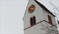 Image for Clock at the Church St. Peter - Büsserach, SO, Switzerland